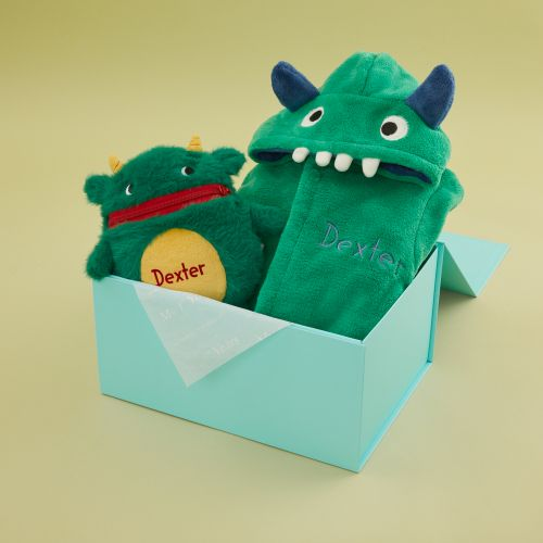 Personalized Little Monster Gift Set