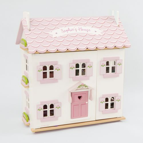 Personalised Le Toy Van Doll House Starter Set