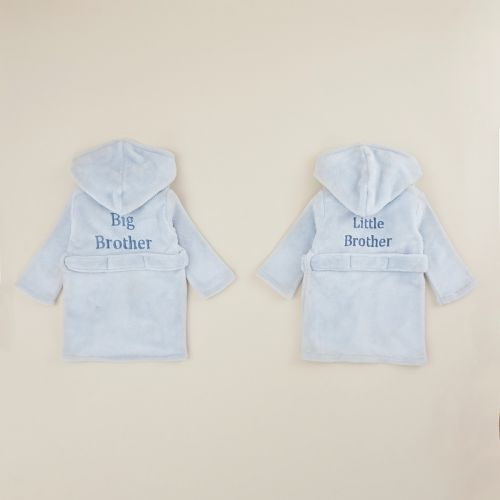 Matching Blue Sibling Robe Set