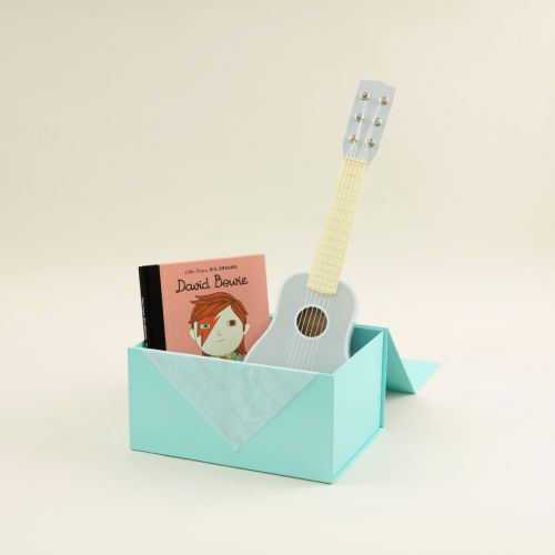 Personalised Little Rockstar Read and Play Gift Set