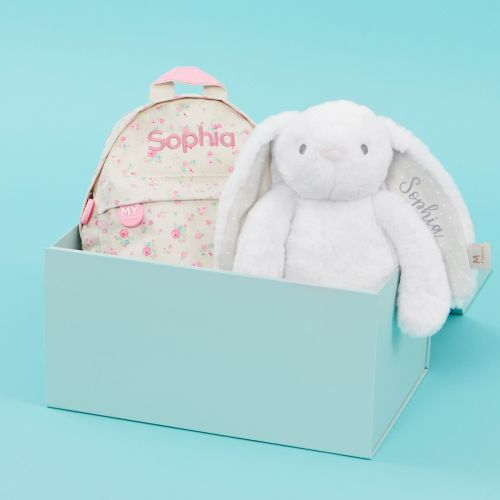 Personalised Little Bunny's Day Out Gift Set