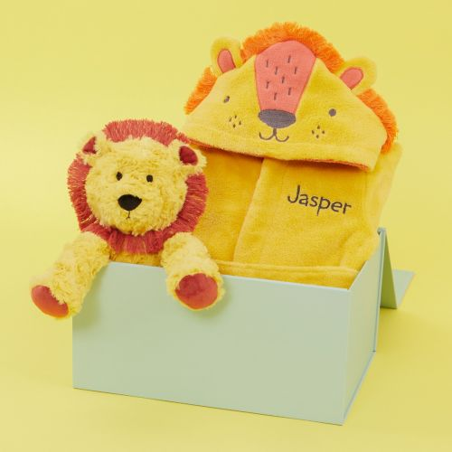 Personalised Goodnight Little Lion Gift Set