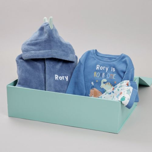 Personalised Little Dino Sweet Dreams Gift Set