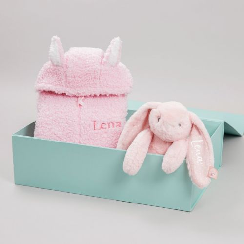 Personalised Baby Bunny's Day Out Gift Set