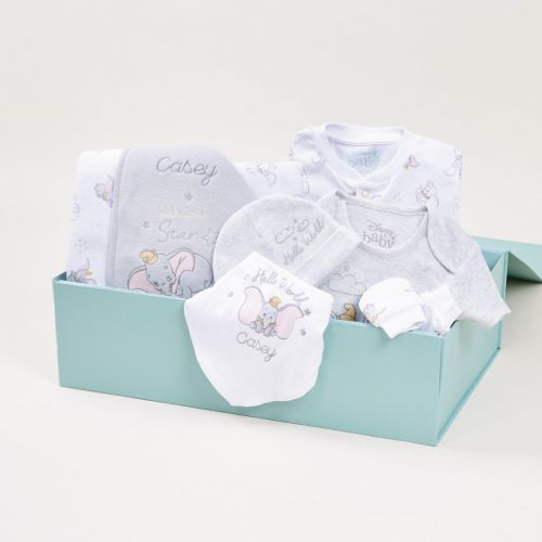 Personalised Disney Dumbo Welcome To The World Gift Set