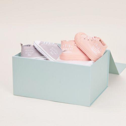 Personalised Siblings High Top Shoes Set