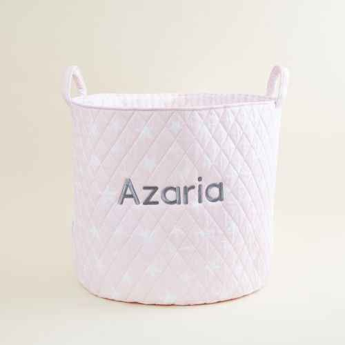 Large Pink Star Storage Bag