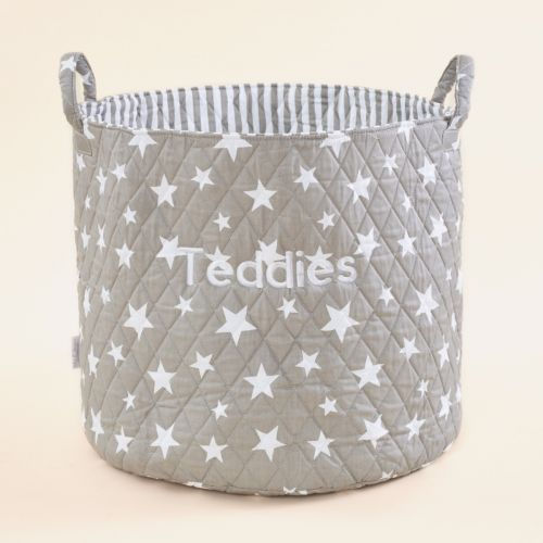 Large Grey Star Storage Bag