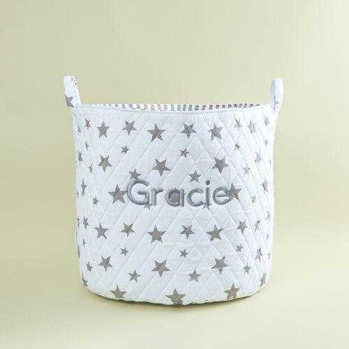 Large White Star Storage Bag