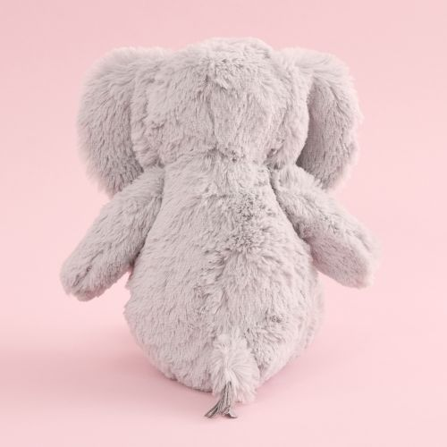 Personalized Gray Elephant Stuffed Animal