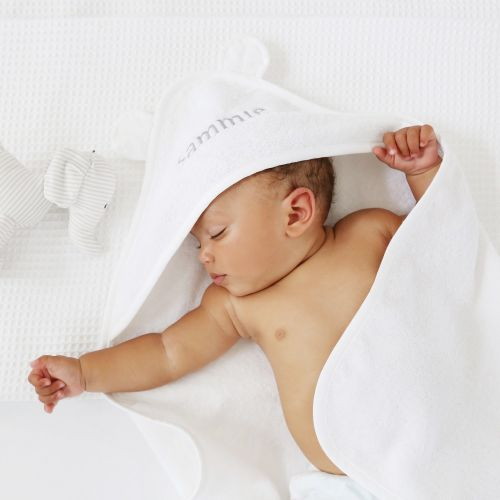 Personalized White Hooded Towel