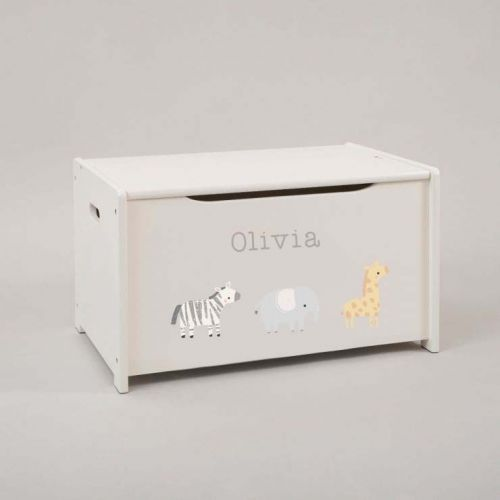 Personalised Really Wild Toy Box