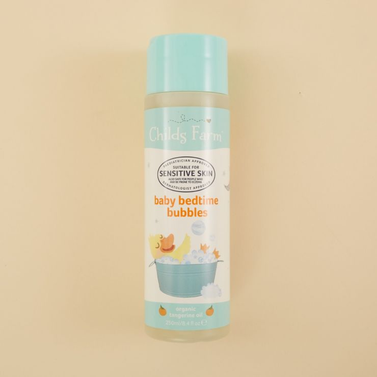 Childs Farm Baby Bedtime Bubbles Organic Tangerine 250ml
