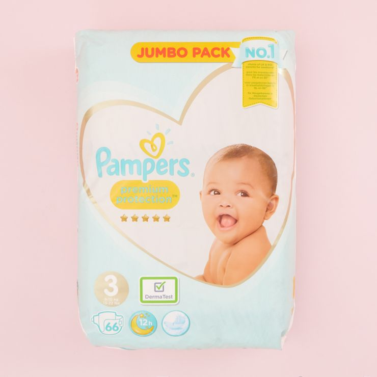 Pampers Size 2 Premium Protection Nappies (Jumbo Pack 68s)