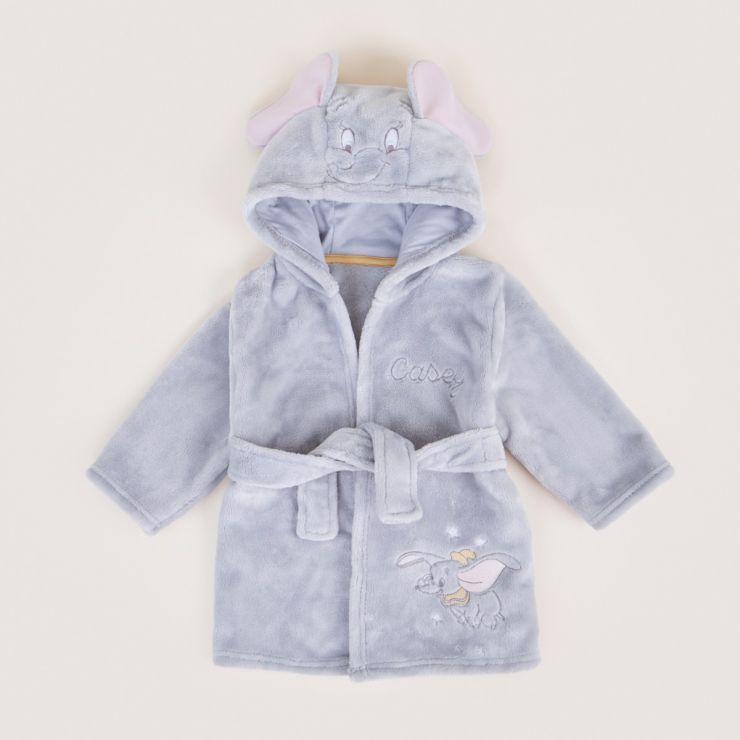 Personalised Disney Dumbo Fleece Dressing Gown