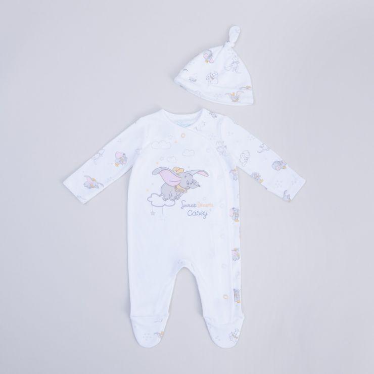 Personalised Disney Dumbo Baby Sleepwear Set