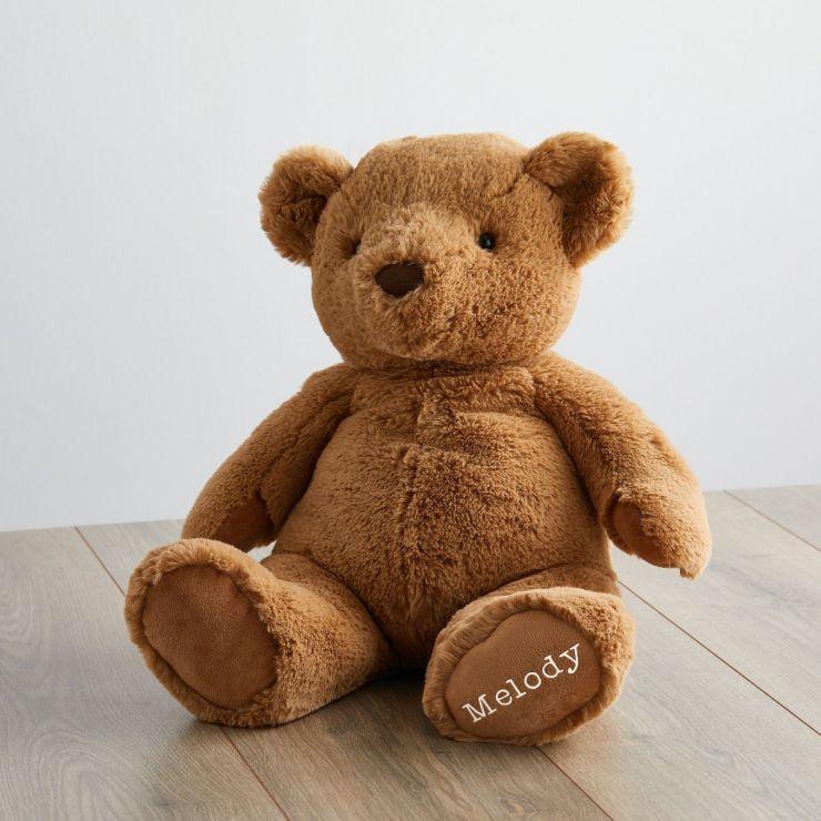 Personalized Super Soft Large Bear Stuffed Animal