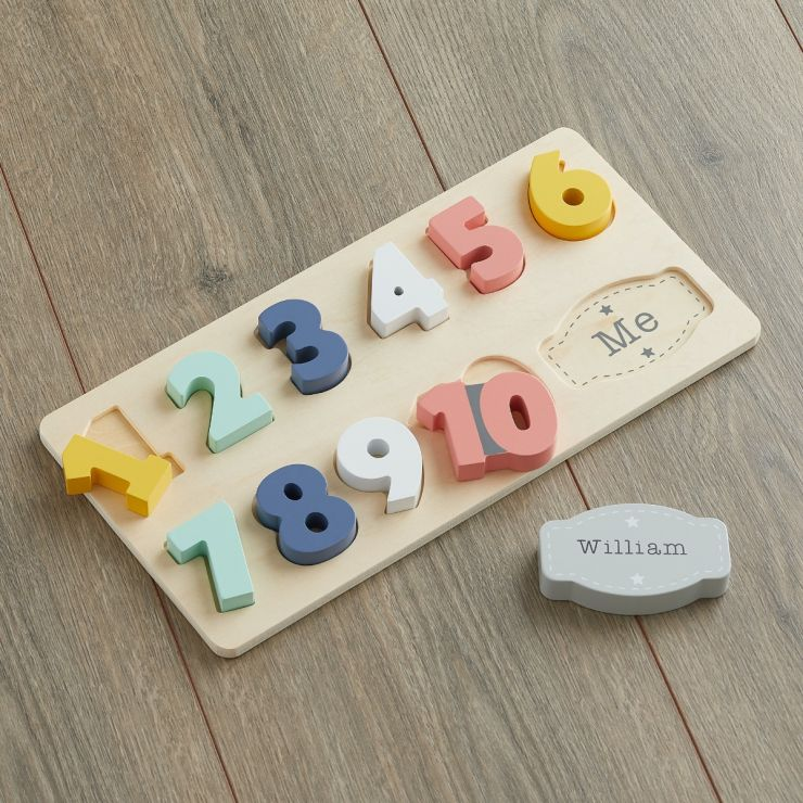 Personalized Colorful Number Puzzle