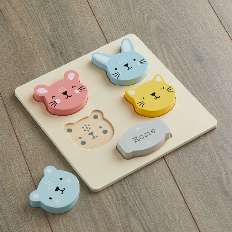 Personalised Furry Friends Puzzle (5pcs)