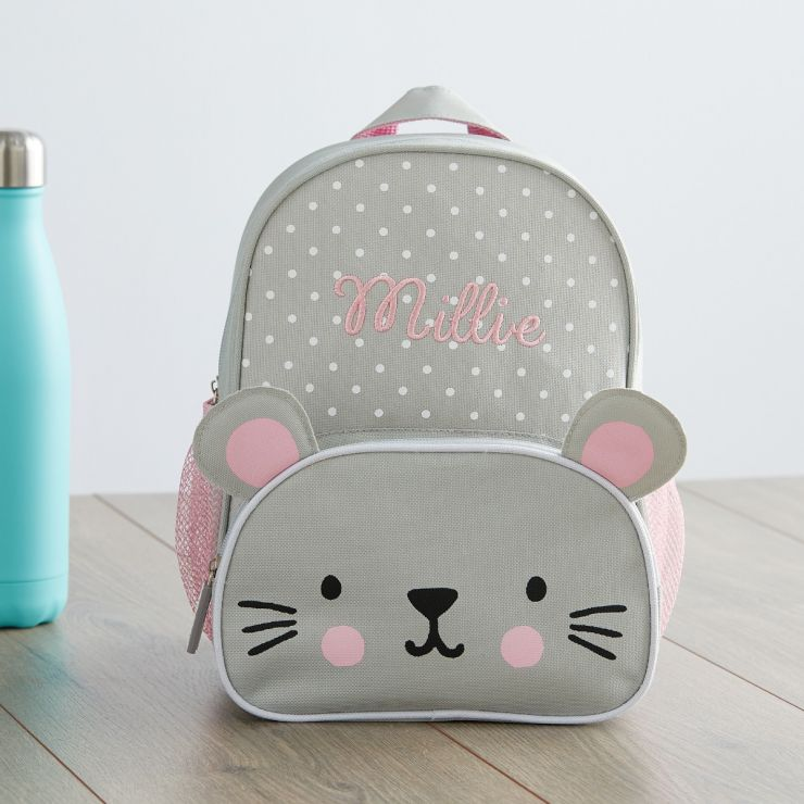 Personalised Mouse Mini Backpack Main
