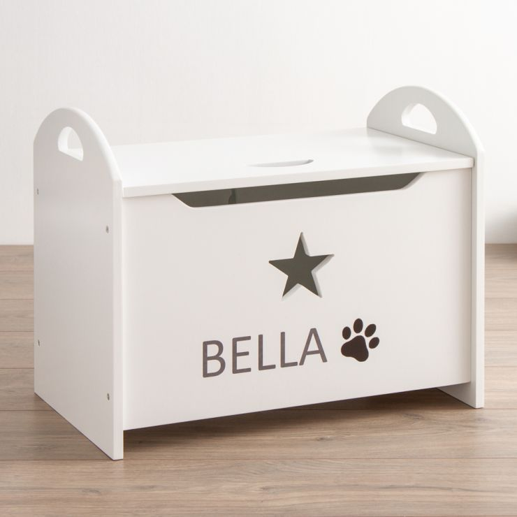 Personalised Pets Star Toy Chest