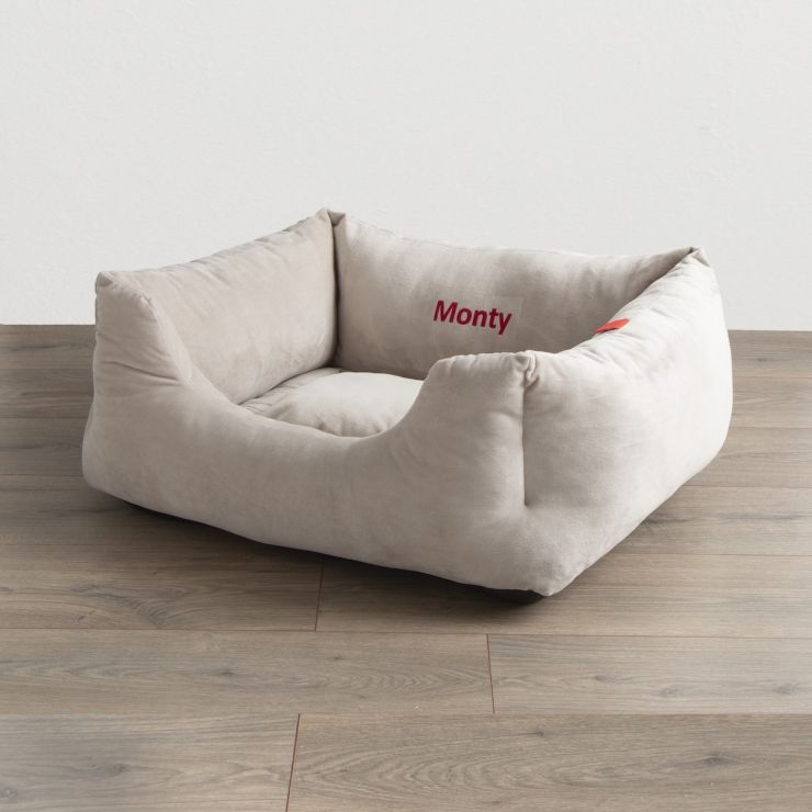 Personalised Soft Touch Pet Bed