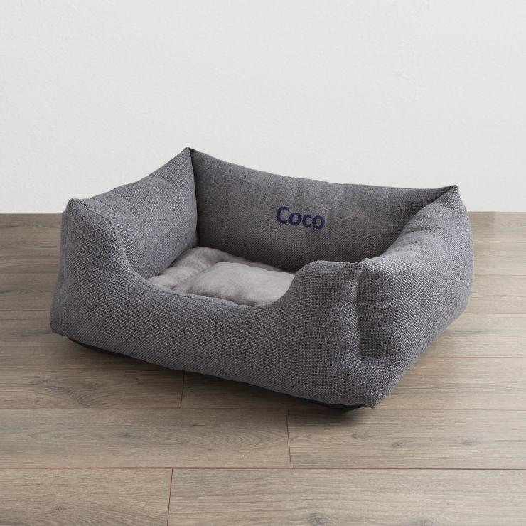 Personalised Harrogate Tweed Pet Bed