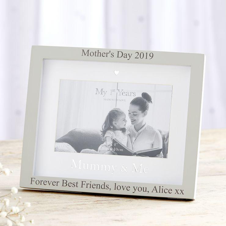 Personalized 'Mummy & Me' Photo Frame