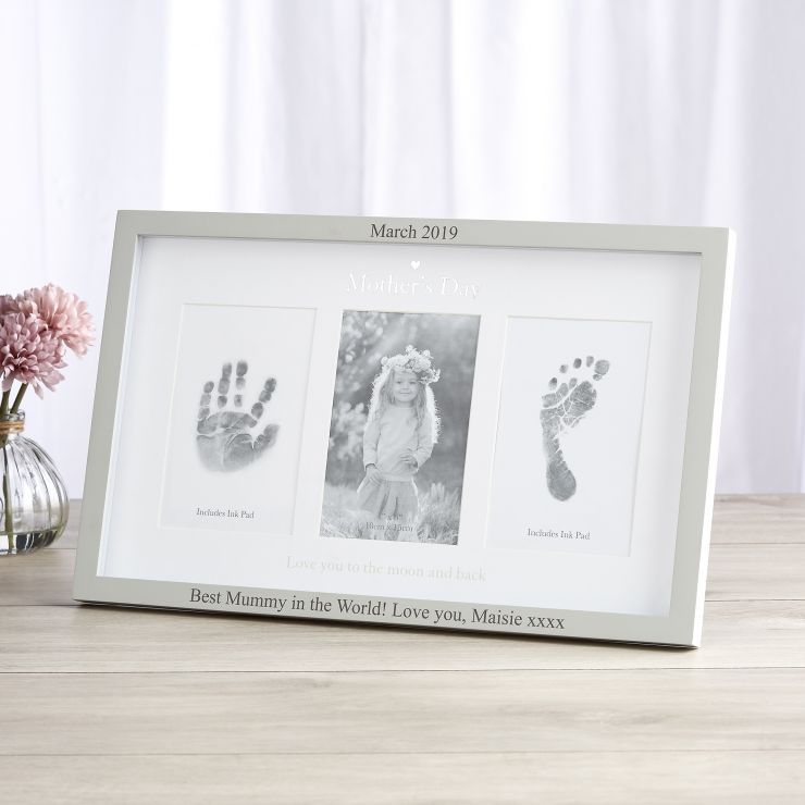 Personalized Mother's Day' Picture & Ink Print Frame