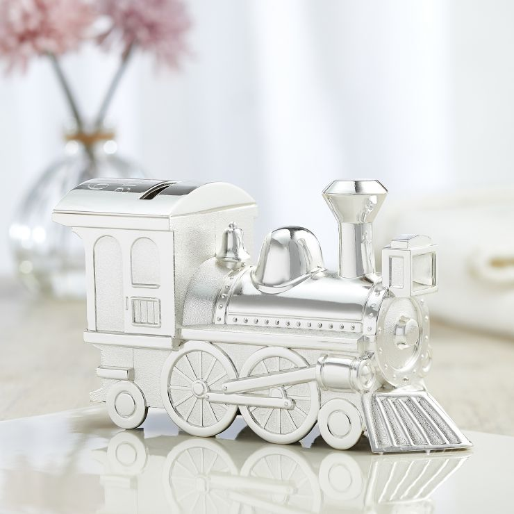Personalized Large Train Money Box