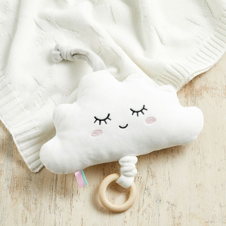 Personalised Musical Cloud Soft Toy