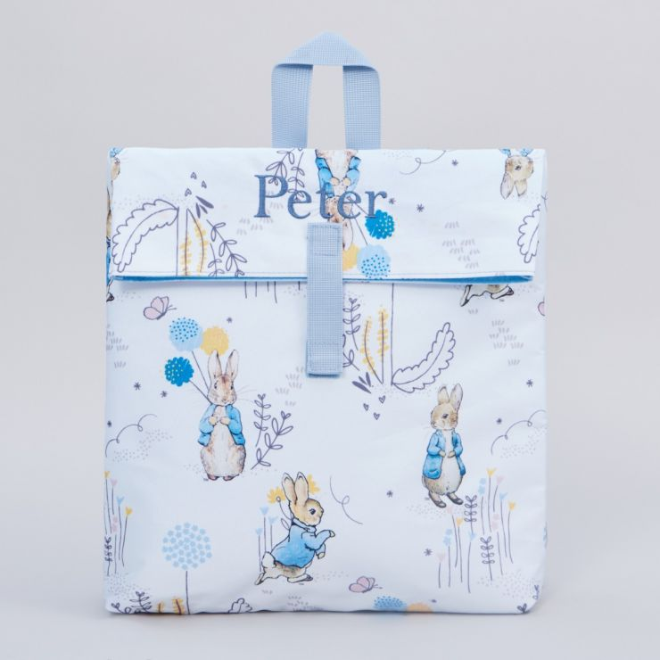 Personalised Peter Rabbit Print Backpack