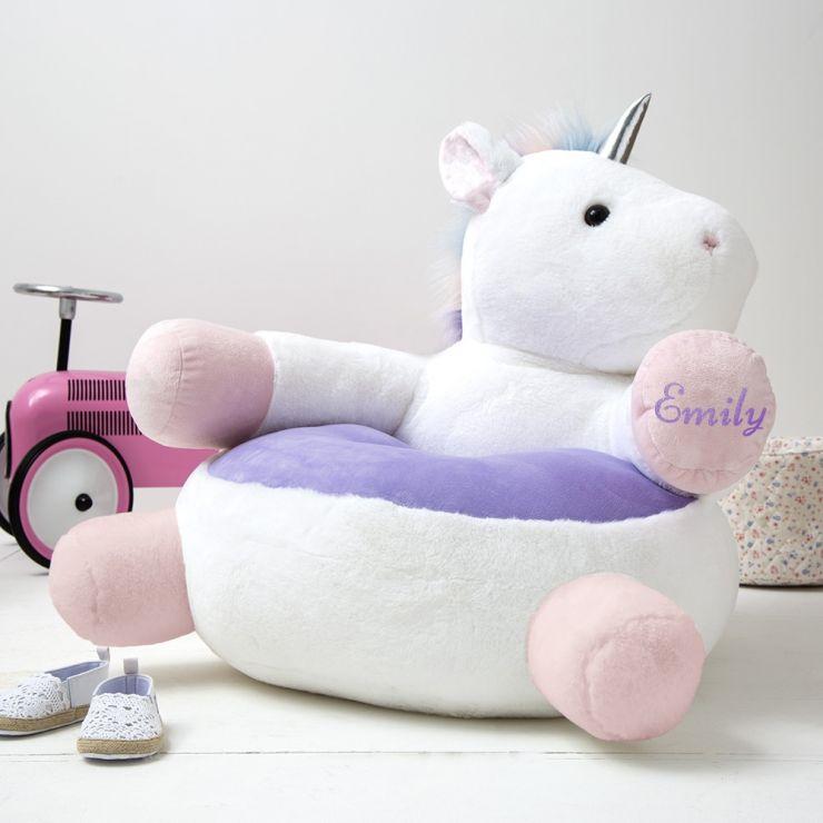 Personalised Children's Unicorn Chair