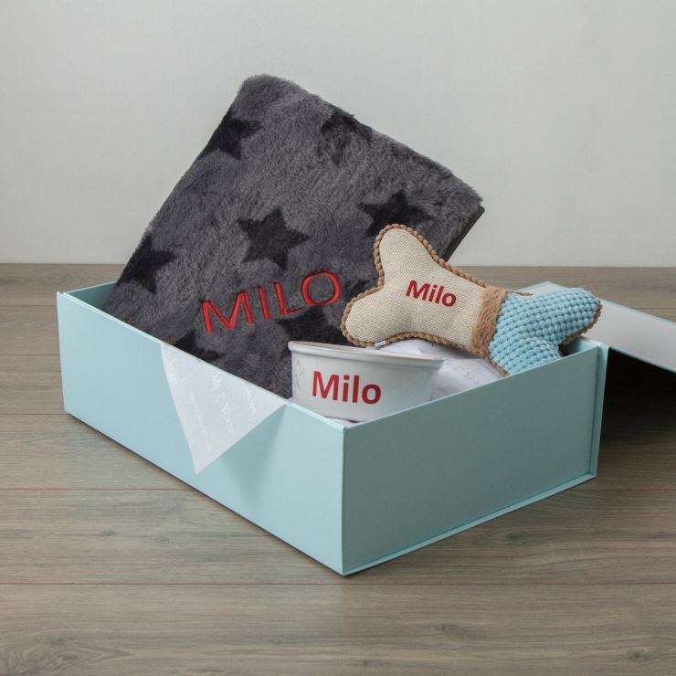 Personalised Dog Essentials Gift Set
