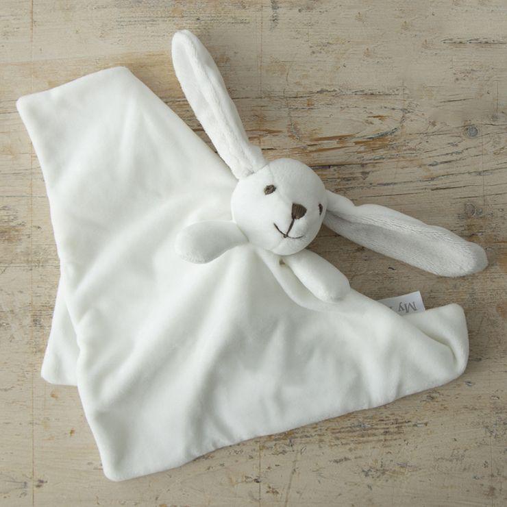 Soft White Bunny Comforter