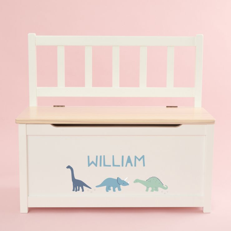 Personalised Dino Design Toy Bench