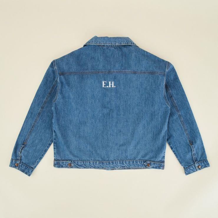 Personalised Blue Adult Denim Jacket