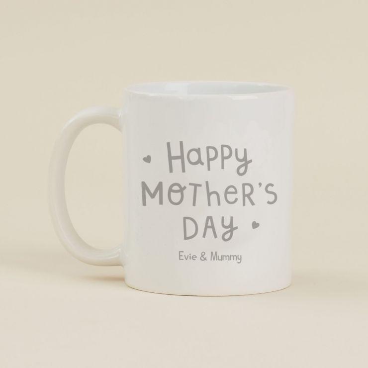 Personalised Grey Mother's Day Design Mug