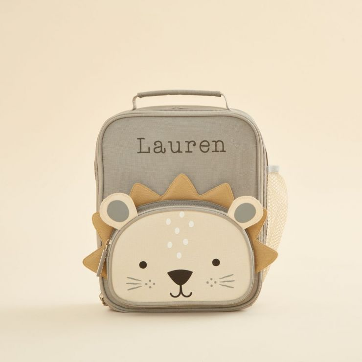 Personalized Lion Lunch Bag