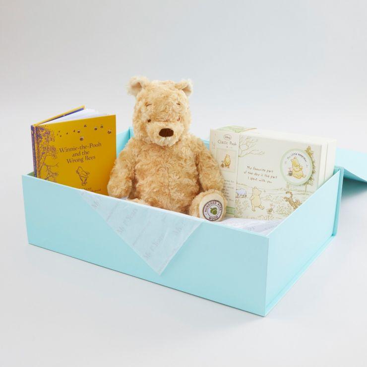 Personalised Winnie The Pooh Precious Memories Gift Set