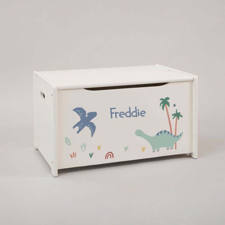 Personalised Jolly Jurassic Toy Box