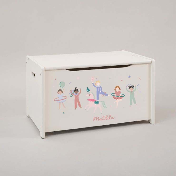 Personalised Little Performer Toy Box