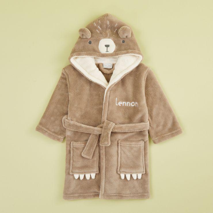 Personalized Bear Robe