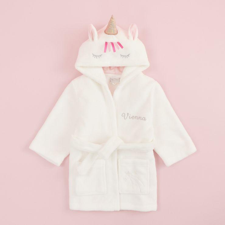 Personalized Unicorn Robe