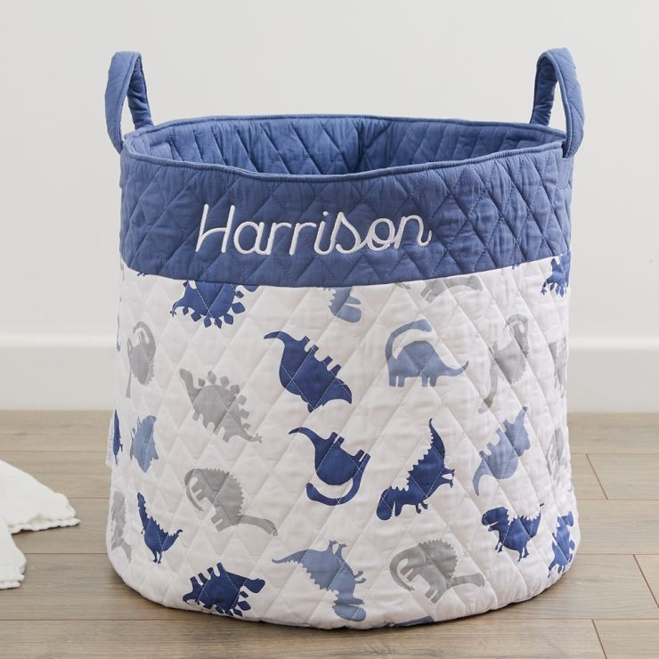 Personalised Dinosaur Print Storage Bag