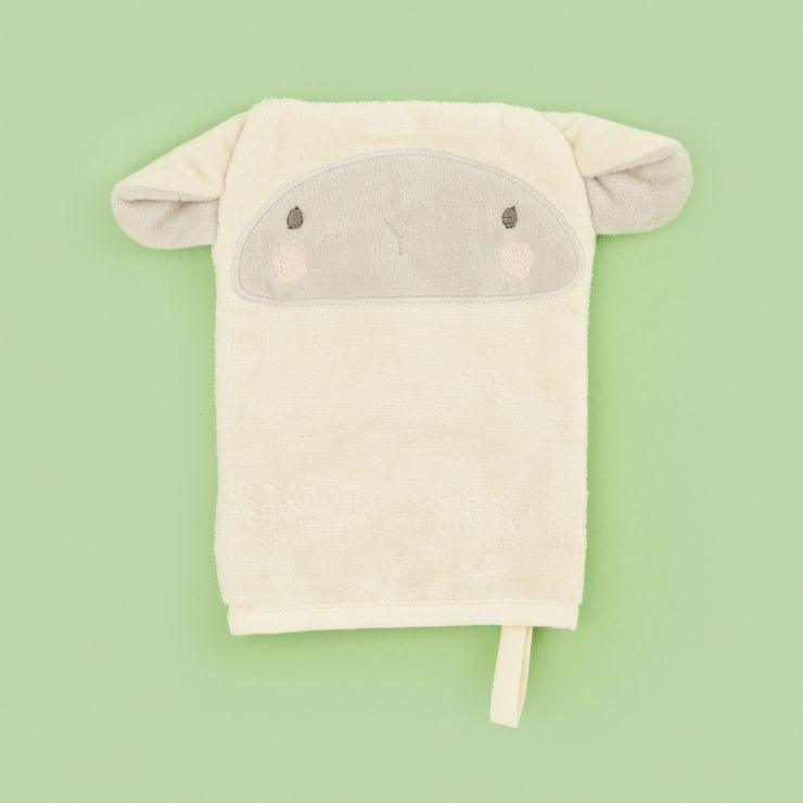 Little Lamb Bath Mitt