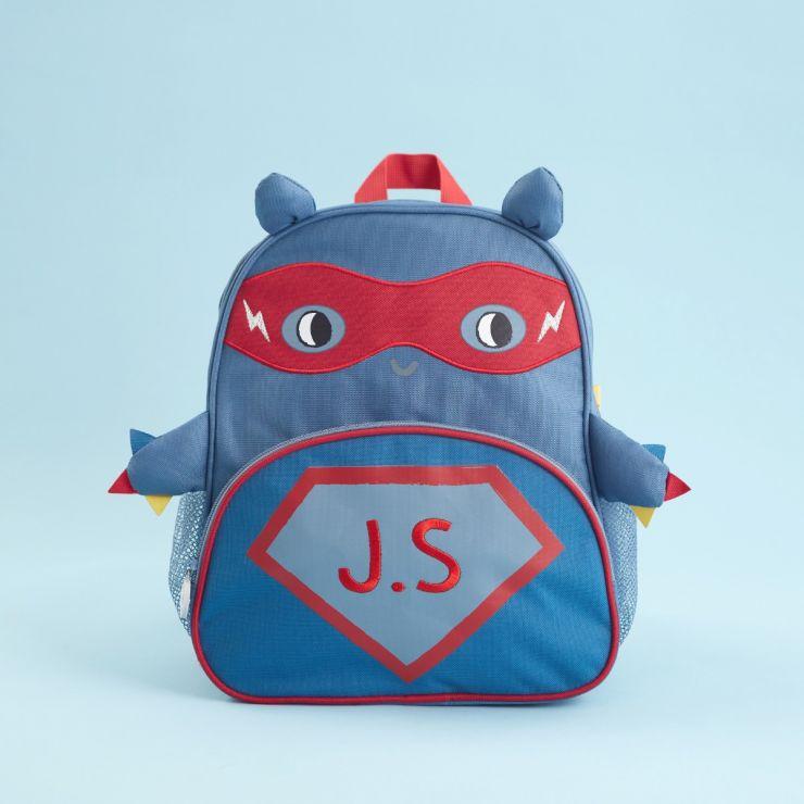 Personalised Superhero Design Infant Backpack