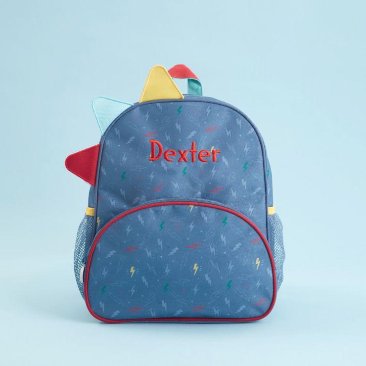 Personalised Medium Monster & Me Printed Backpack