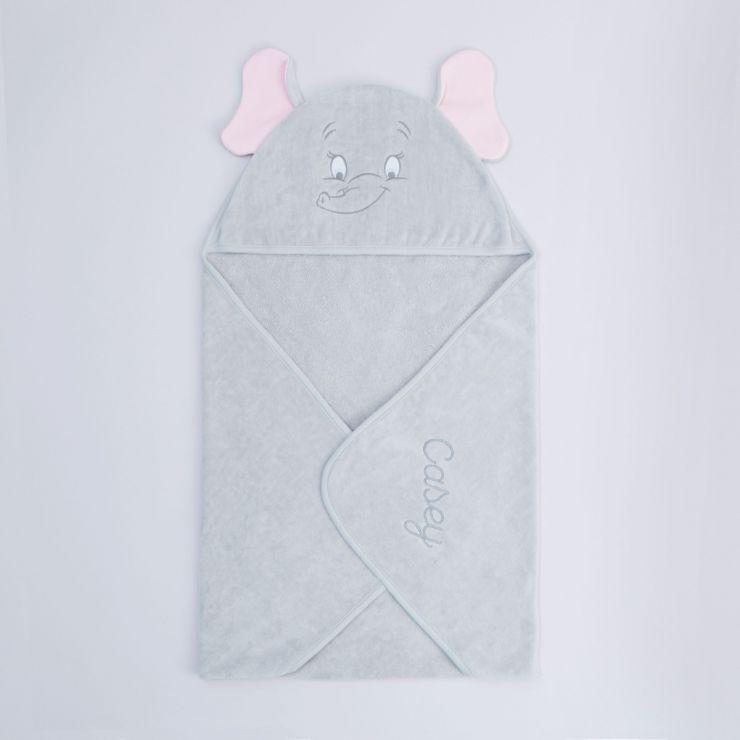 Personalised Disney Dumbo Hooded Towel