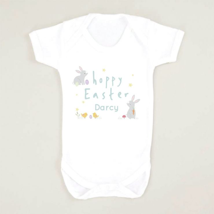 Personalised 'Hoppy Easter' Bodysuit